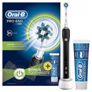 Oral-B Pro 650 CrossAction ZESTAW 2+1